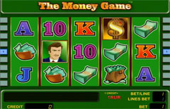Основной экран The Money Game